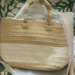 NWT ALTRU Adorable Straw Tote with Tassel